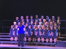 Choirs competed in Creative Generation Voices