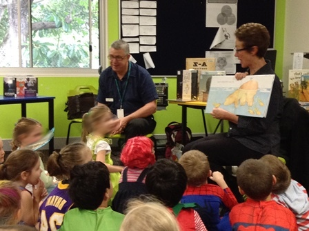 Visiting librarians celebrate Book Week
